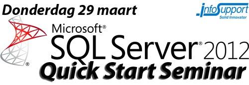 SQL Server 2012 Quick Start Seminar