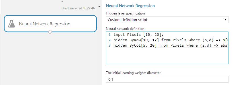 4 - Neural Network regression