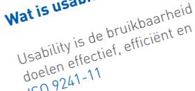 Wat is usability?