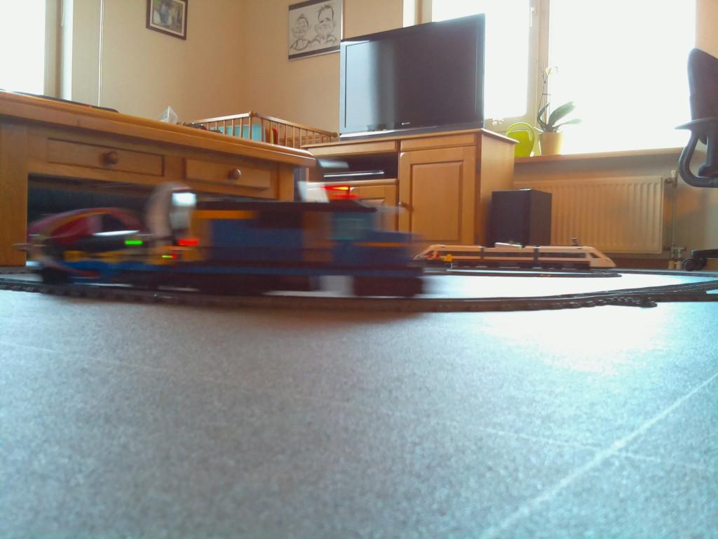 Moving train 1
