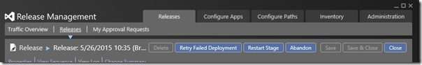 1. Retry buttons
