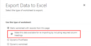 ExportDataToExcel