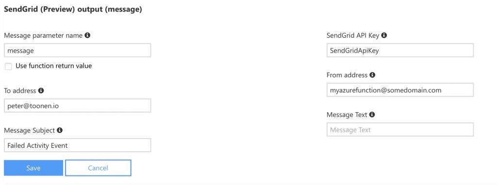 Configure SendGrid