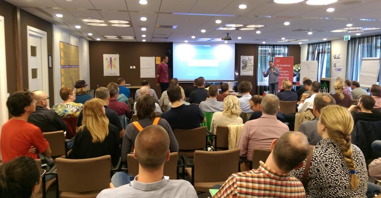 Info Support sponsort Agile Open Holland 2017 en deelt posters uit