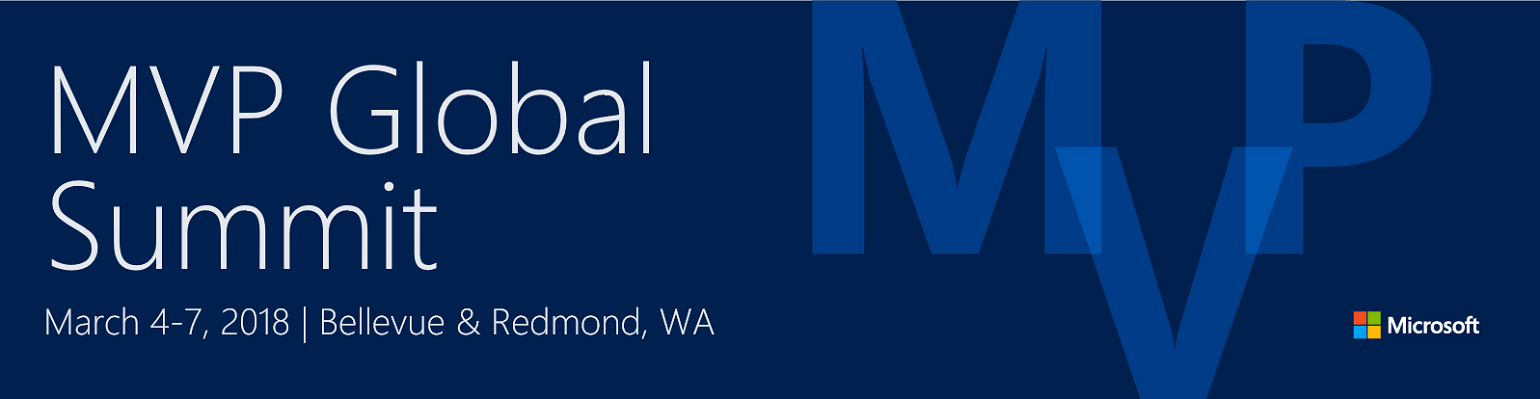 5 MVP's van Info Support op de Microsoft MVP Global Summit in Redmond