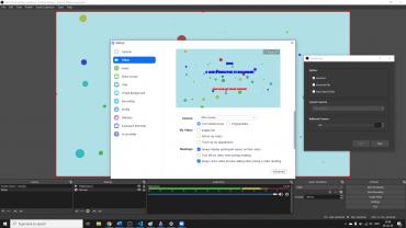 Screenshot OBS video input in Zoom