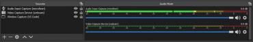 screenshot audio mixer