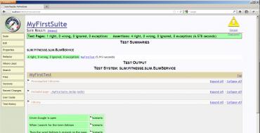 Project Xebium Classpath, which includes Xebium classes