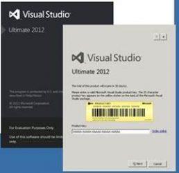 Please enter a valid Microsoft Visual Studio Product Key