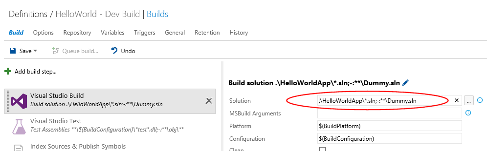 TFS2015 build tasks: The wildcard format explained - Info Support Blog